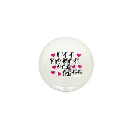 Free Dance Mini Button (10 pack)
