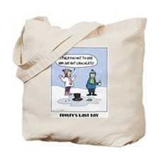 """Frosty's Last Day"" Tote Bag"