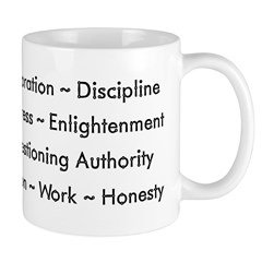Scientific Values Coffee Mug