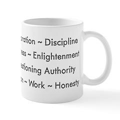 Scientific Values Coffee Mug