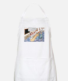 """""""Rubber Gloves"""" BBQ Apron"""