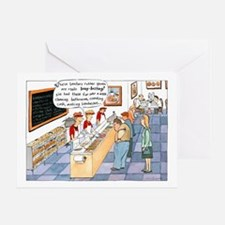 """Rubber Gloves"" Greeting Card"