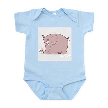 Smiley Elephant - Infant Creeper