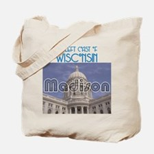 Madison Wisconsin Tote Bag
