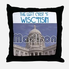 Madison Wisconsin Throw Pillow