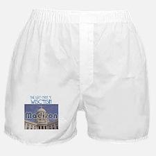 Madison Wisconsin Boxer Shorts