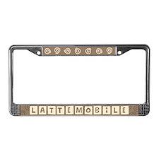 Lattemobile License Plate Frame