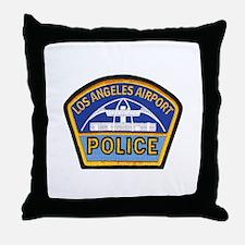 LAX Police Throw Pillow