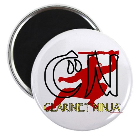Clarinet Ninja Magnet