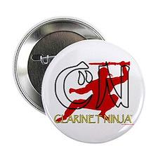"""Clarinet Ninja 2.25"""" Button"""