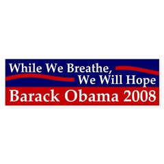 While We Breathe, We Will Hope Decal