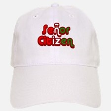 Senor Citizen Baseball Baseball Cap