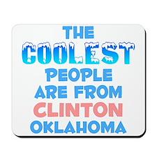 Coolest: Clinton, OK Mousepad