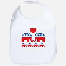 Republican Family Bib