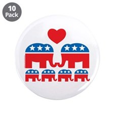 "Republican Family 3.5"" Button (10 pack)"