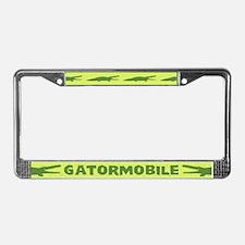 Gatormobile License Plate Frame