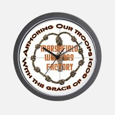 Weapons Of Grace Wall Clock