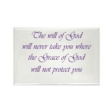 Grace of God Rectangle Magnet
