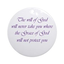 Grace of God Ornament (Round)