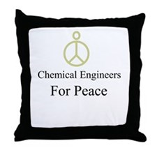 Chemical Engineers Throw Pillow