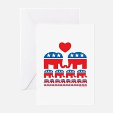 Republican Population Greeting Cards (Pk of 10)
