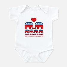 Republican Population Infant Bodysuit