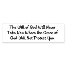 Grace of God Bumper Bumper Stickers