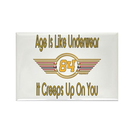 Funny 84th Birthday Rectangle Magnet