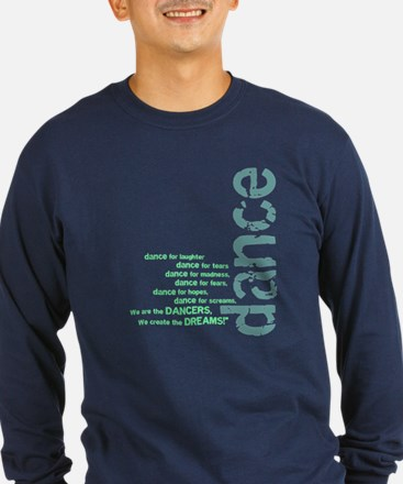 """Blue and Green """"We Create the T"""