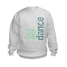 "Blue and Green ""We Create the Sweatshirt"