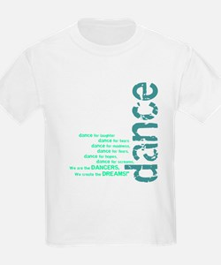 """Blue and Green """"We Create the T-Shirt"""