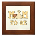 Mom to Be Framed Tile
