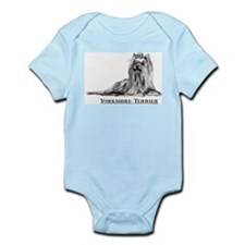Yorkshire Terrier Dog Breed Infant Creeper