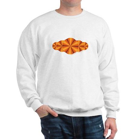 Orange Illusion Sweatshirt