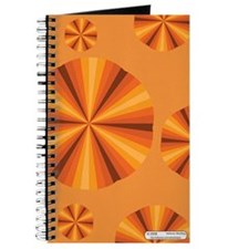 Orange Illusion Journal