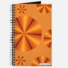 Orange Illusion Journal