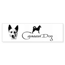canaan dog Bumper Sticker