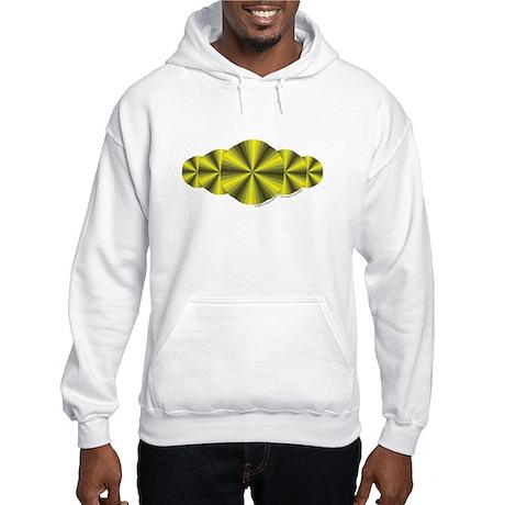 Yellow Illusion Hooded Sweatshirt