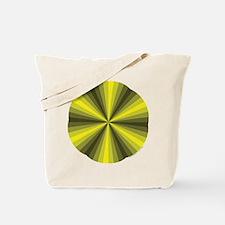 Yellow Illusion Tote Bag