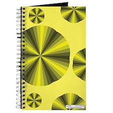 Yellow Illusion Journal