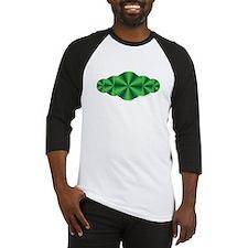 Green Illusion Baseball Jersey