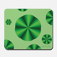 Green Illusion Mousepad