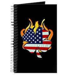 Irish Firefighter Shamrocks Journal