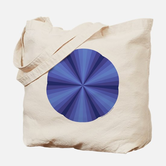 Blue Illusion Tote Bag