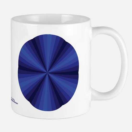 Blue Illusion Mug