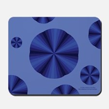 Blue Illusion Mousepad