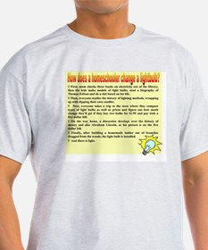 Homeschool Lightbulb T-Shirt