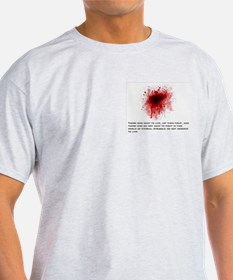 Fight For Life Quote T-Shirt