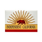 Independent California Rectangle Magnet