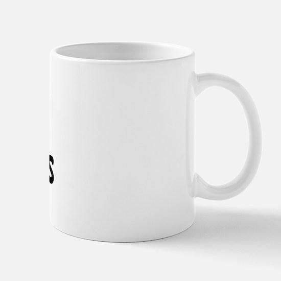 I Love Lourdes (Black) Mug